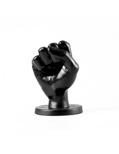 All Black Fist Plug Medium