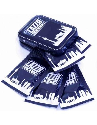 Cazzo Berlin Metal Box with 5 Condoms