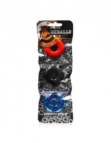 Ringer Cockring Multi-Color 3 Pack