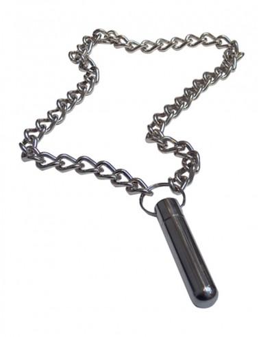 Inhaler with chain