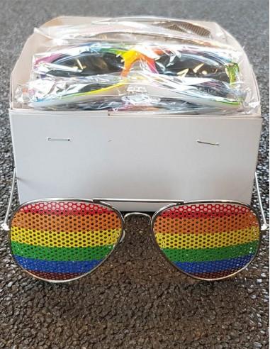 Pride Rainbow Sunglasses Aviator