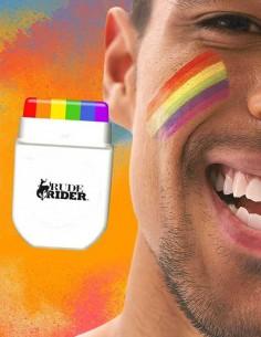 RudeRider Rainbow Face Paint MakeUp Set