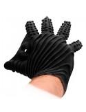FistIt Silicone Masturbation Glove Black