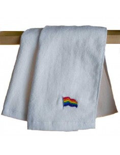 Rainbow Flag Gym Towel